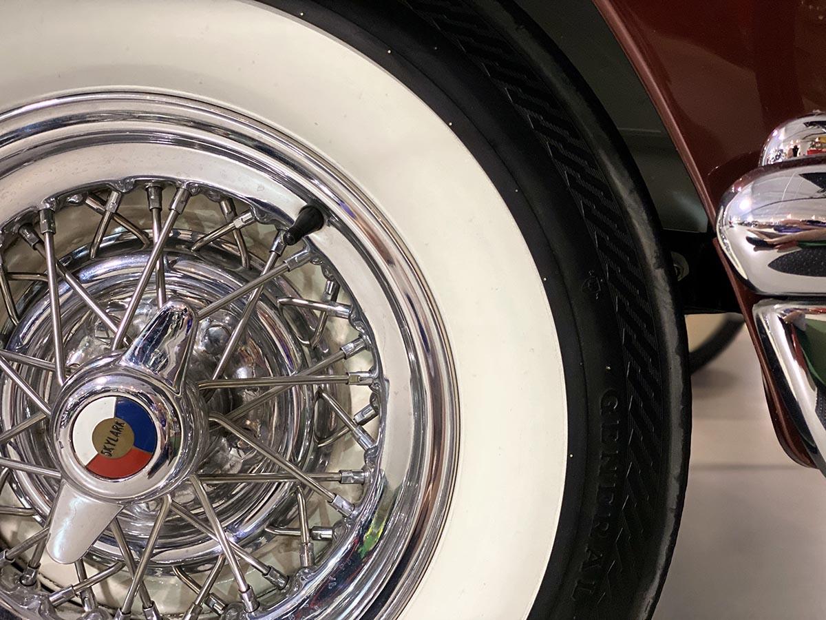 Dauer Classic Car Museum 1953-Buick Skylark Convertible Tries