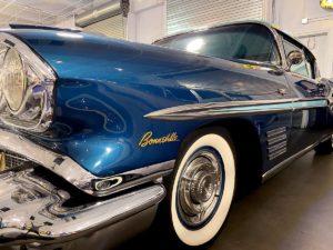 Dauer Classic Car Museum 1958 Pontiac Bonneville Custom Sport Coupe