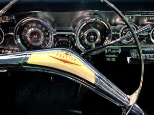 Dauer Classic Car Museum 1958 Pontiac Bonneville Custom Sport Coupe interior