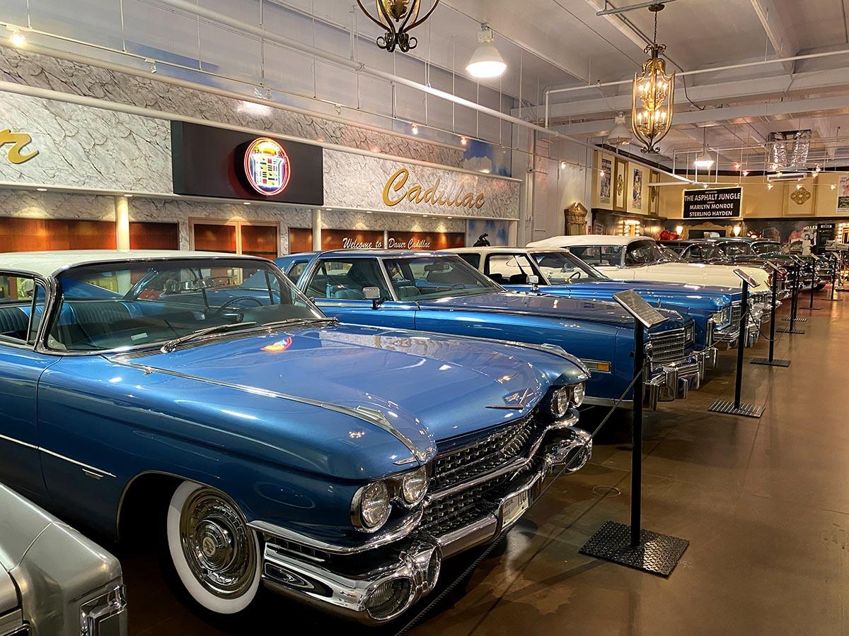 Dauer Classic Car Museum Cadillac Collection