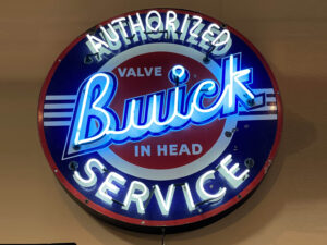 Classic Buick Neon Sign