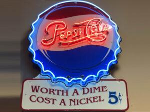 Classic Pepsi Neon Sign